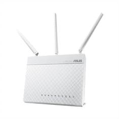 Asus brezžični usmerjevalnik RT-AC68U Gigabit Dual-Band, 802.11ac/a/g/b/n, 1900Mbps