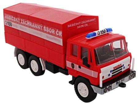 Monti Systém model samochodu Tatra 815 straż pożarna