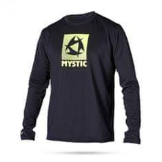 Mystic majica z dolgimi rokavi Quickdry Star L/S 900, črna