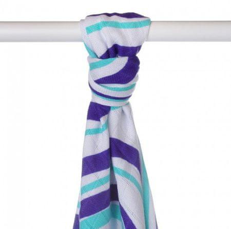 XKKO Ręcznik bambusowy 90x100 cm, Blue Waves