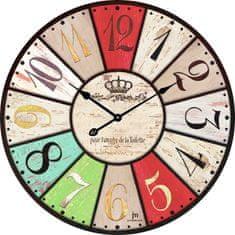 Lowell Designové nástenné hodiny 14850