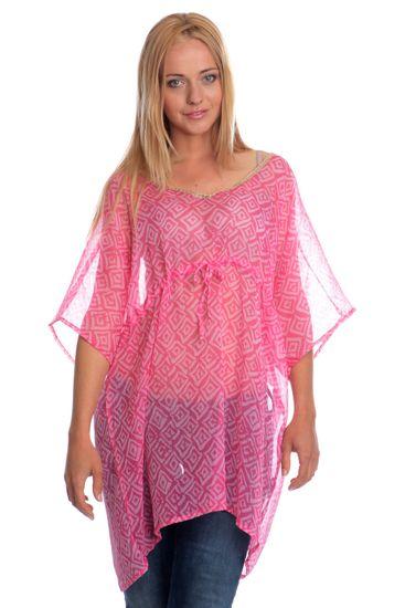 Brave Soul dámská tunika Jangala S růžová