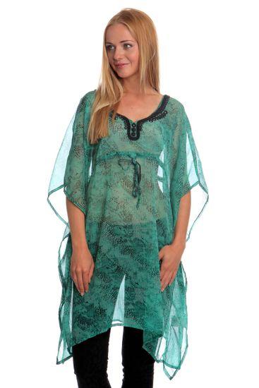 Brave Soul dámská tunika Congo S zelená