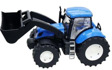 Traktor z nakladalko New Holland, 41 cm