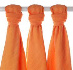 XKKO Pieluszki bambusowe 70x70 cm - 3 szt - Orange