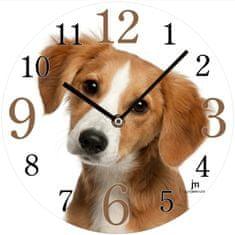 Lowell Designowy zegar ścienny 14845