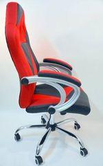 Hyle pisarniški stol HY-8127, rdeče črn