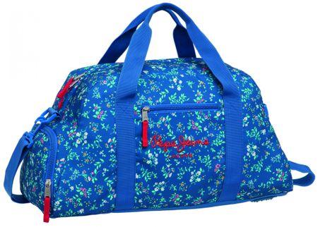 21bd33db70b00 Pepe Jeans Cestovná taška kvety 50cm, modrá - Alternatívy | MALL.SK