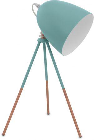 EGLO 49337 DUNDEE Asztali lámpa, Világoskék