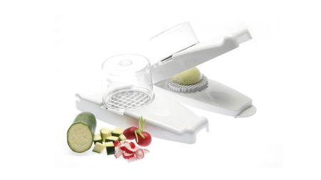 Status rezalnik čebule, sadja in zelenjave, 5-delni, bel
