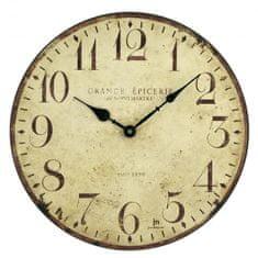 Lowell Designové nástěnné hodiny 21410