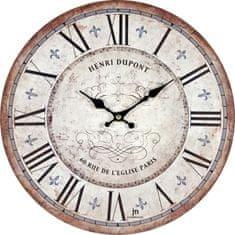 Lowell Designové nástenné hodiny 21432