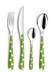 Amefa pribor za jelo Zephyr, 24 dijelni, zeleni