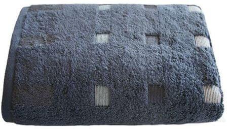 Framsohn Quattro Törölköző, Fekete, 50 x 100 cm