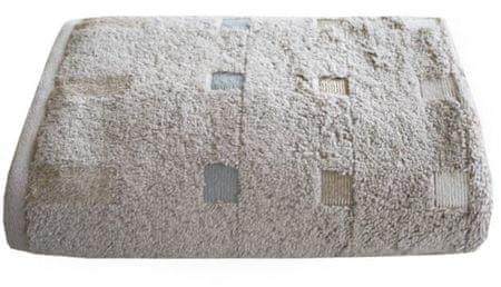 Framsohn Ręcznik Quattro 50 x 100 cm, kasztanowy