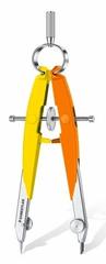 Staedtler šestar 556 Neon, žuto-narančasti