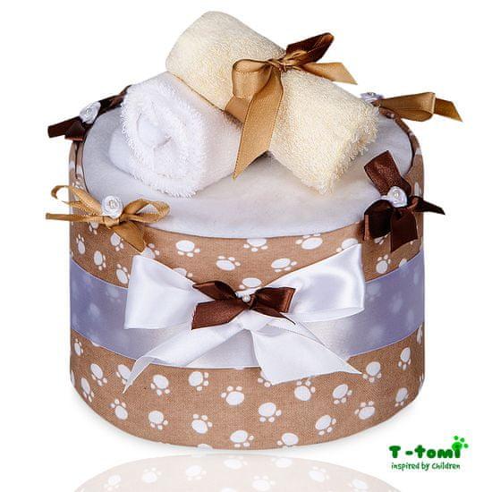 T-Tomi Plenkový dort velký, Béžové tlapky