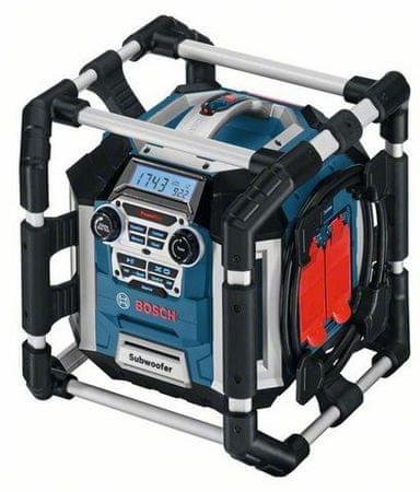 BOSCH Professional Akkutöltős rádió GML 50