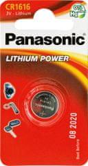 Panasonic Baterija Panasonic CR 1616 3V Lithium