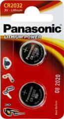 Panasonic baterija CR-2032L, 2 kosa