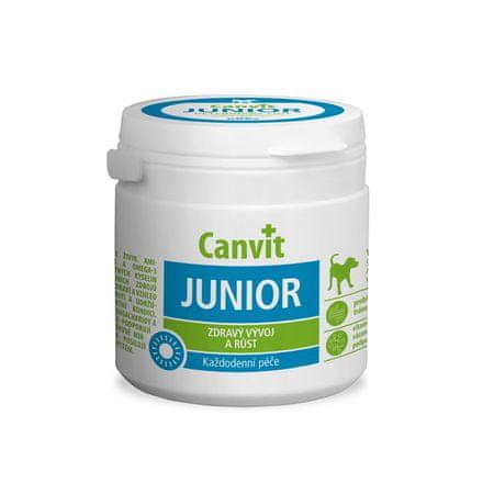 Canvit Junior Dog Táplálékkiegészítő 230g új