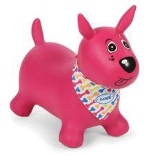 Ludi Pies do skakania różowy