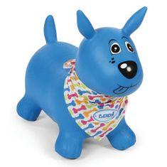 Ludi Pies do skakania niebieski