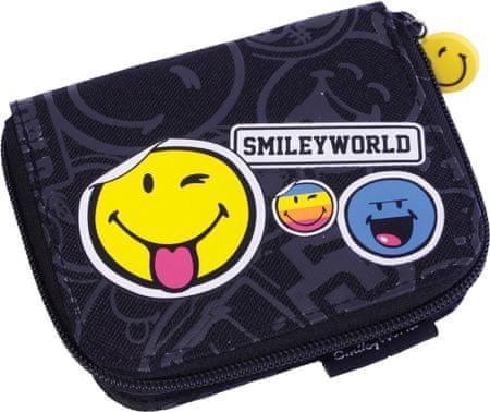 Smiley denarnica na zadrgo