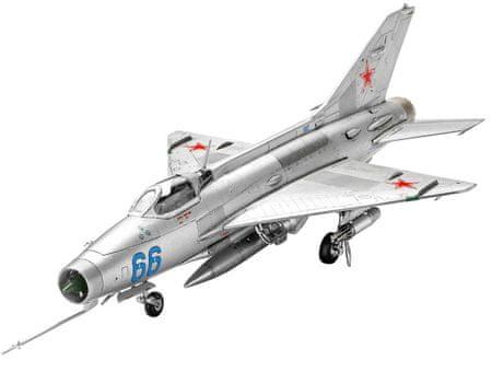 REVELL 03967 ModelKit MiG-21 F.13 Modell, 1:72