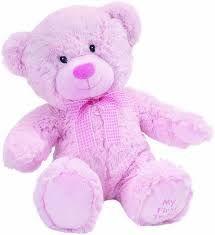 Suki Baby Hug-a-Boo medo, rozi - jumbo