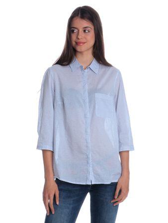 s.Oliver dámská košile s límečkem 42 bílá