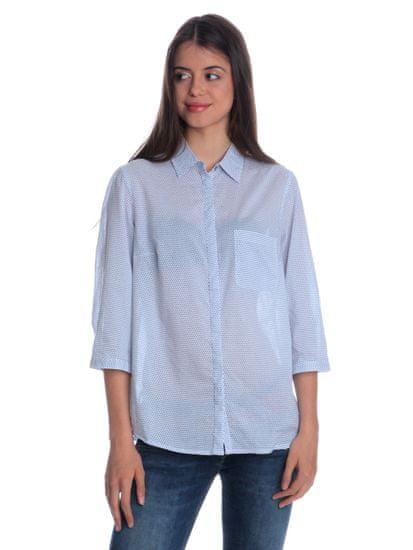 s.Oliver dámská košile s límečkem 40 bílá