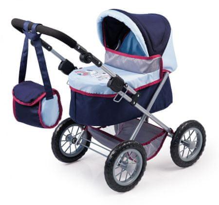 Bayer Design kolica za lutke Trendy, plava/tamno plava