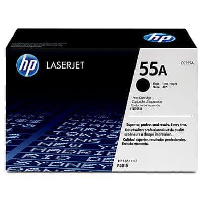 HP toner 55A črn (CE255A), 6000 strani