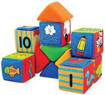 K´s Kids Építs és tanulj játékkocka, 20 db