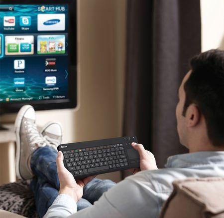a6057c608 TRUST Sento Smart TV Keyboard for Samsung CZ/SK (20291) | MALL.SK