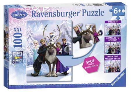 Ravensburger Jégvarázs XXL Puzzle, 100 db