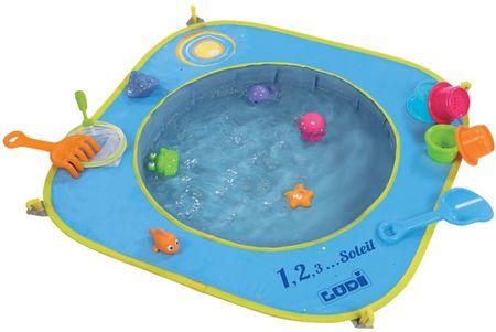 Ludi Skládací bazén na pláž 72x72x16 cm