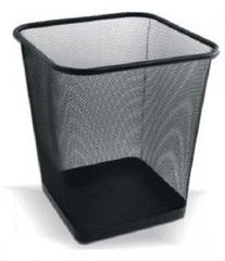 Net koš za smeće LD01-128 kvadrata, crn