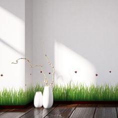 Crearreda dekorativna naljepnica, Trava i bubamare