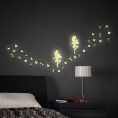 Crearreda dekorativna naljepnica, svjetleća vila
