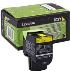 Lexmark toner 70C20Y0, yellow