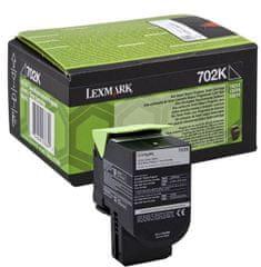 Lexmark toner 70C20K0, crni
