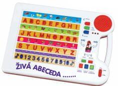 MaDe Tabuľka náučná, živá abeceda CZ