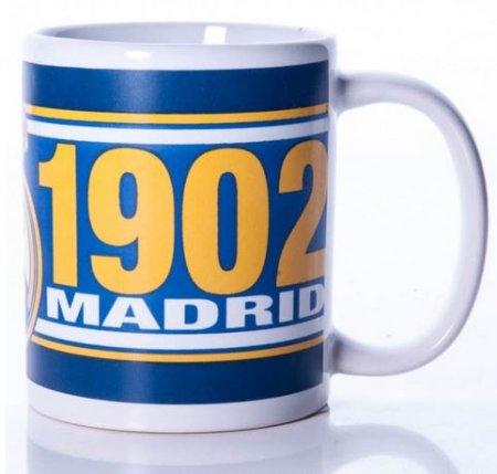FC Real Madrid skodelica, modro-bela