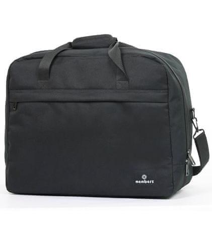 MEMBER´S potovalna torba, 40 l, črna