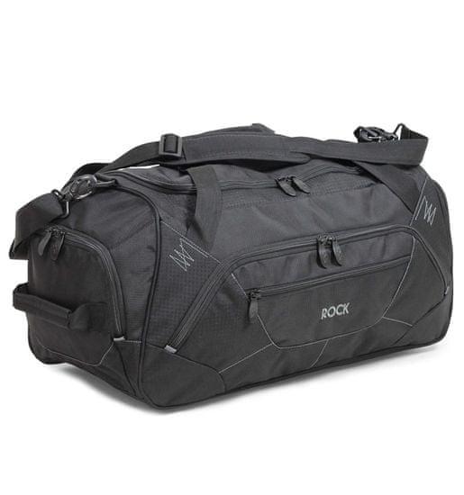 Rock Cestovná taška ROCK HA-0043 - čierna