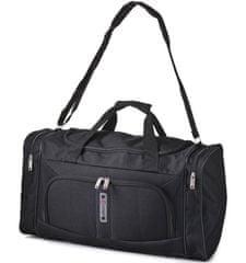 REAbags potovalna torba Cities, 32 l, črna