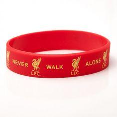 Liverpool FC silikonska zapestnica, rdeča (02446)