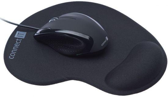 Connect IT CI-77 myš 3023 optická + gelová podložka
